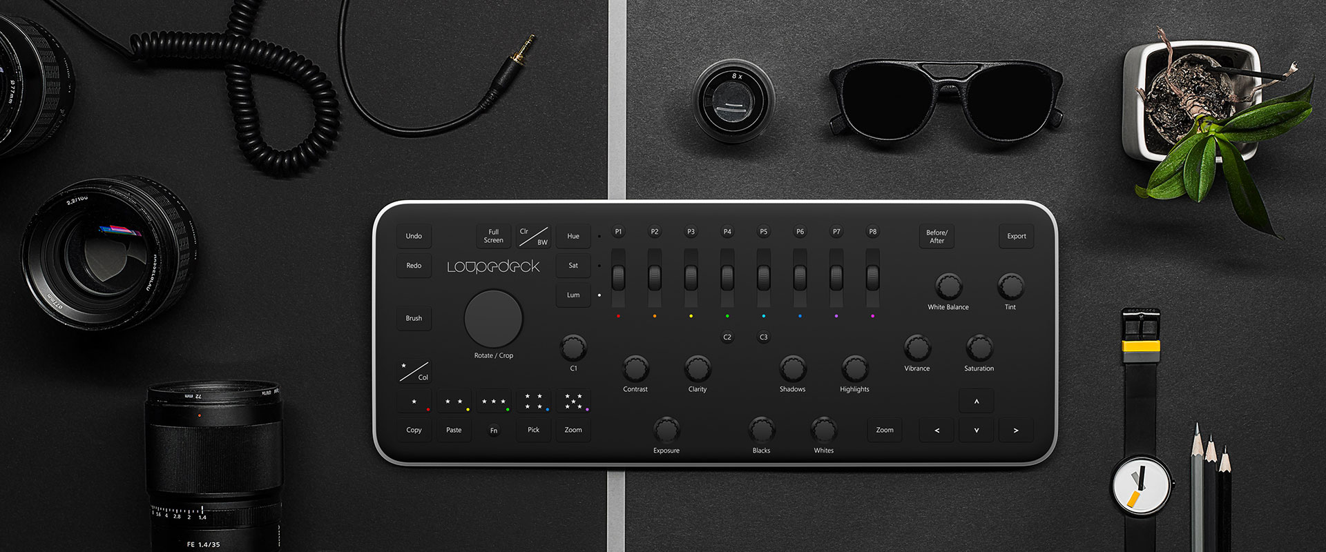 Loupedeck adobe lightroom konzola
